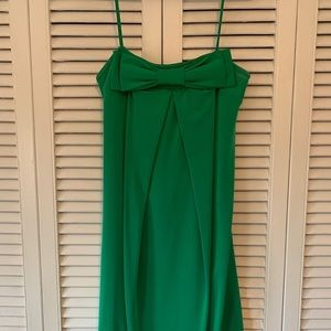 Le Chateau Prom Dress With Bow Detail